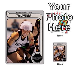 Mm Thunder By Matthew Head   Multi Purpose Cards (rectangle)   Puagis1sd8nb   Www Artscow Com Front 16