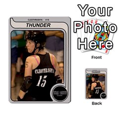 Ct Thunder By Matthew Head   Multi Purpose Cards (rectangle)   Hligf95mxvk4   Www Artscow Com Front 9