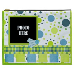 Bluegrass Xxxl Cosmetic Bag 1 By Lisa Minor   Cosmetic Bag (xxxl)   6fbgk6d7xich   Www Artscow Com Front