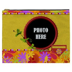 Miss Ladybugs Garden Xxxl Cosmetic Bag 1 By Lisa Minor   Cosmetic Bag (xxxl)   50wzuf8g2sjc   Www Artscow Com Front