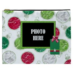 Merry And Bright Xxxl Cosmetic Bag 1 By Lisa Minor   Cosmetic Bag (xxxl)   G1npmv53pt2g   Www Artscow Com Front