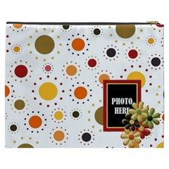 Tangerine Breeze Xxxl Cosmetic Bag 1 By Lisa Minor   Cosmetic Bag (xxxl)   U9l988p0xloc   Www Artscow Com Back