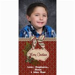 Shaw Xmas Card 2012 - 4  x 8  Photo Cards