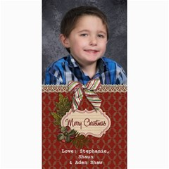 Shaw Xmas Card 2012 By Steph   4  X 8  Photo Cards   F797nca3zspp   Www Artscow Com 8 x4 Photo Card - 2