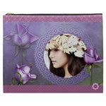 Elegance-purple Cosmetic Bag (XXXL)