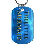 mermaid - Dog Tag (Two Sides)