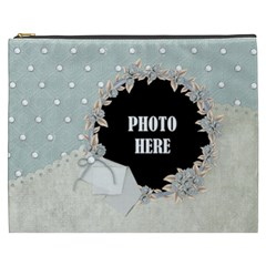 Winters Blessing Xxxl Cosmetic Bag By Lisa Minor   Cosmetic Bag (xxxl)   Jy0rxarqanue   Www Artscow Com Front