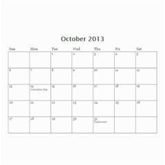 Whocalendar By Lindy Hafner   Wall Calendar 8 5  X 6    Q9gii81qfzen   Www Artscow Com Oct 2013