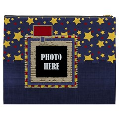 Primary Cardboard Xxxl Cosmetic Bag 1 By Lisa Minor   Cosmetic Bag (xxxl)   Rm5pn8ehj7mo   Www Artscow Com Back