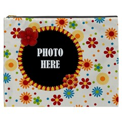 Celebrate May Xxxl Cosmetic Bag 1 By Lisa Minor   Cosmetic Bag (xxxl)   68vdwc4zp8r7   Www Artscow Com Front