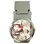 merry christmas - Money Clip Watch
