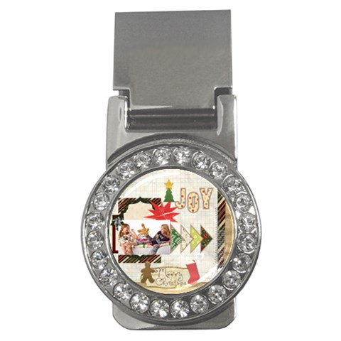 Merry Christmas By Betty   Money Clip (cz)   Sls961fzwbpb   Www Artscow Com Front