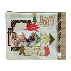 Merry Christmas By Betty   Cosmetic Bag (xl)   Yi5pdp8eg2p1   Www Artscow Com Front