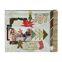 Merry Christmas By Betty   Cosmetic Bag (xl)   Yi5pdp8eg2p1   Www Artscow Com Back
