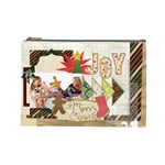 merry christmas - Cosmetic Bag (Large)