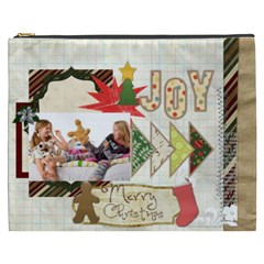 Merry Christmas By Betty   Cosmetic Bag (xxxl)   8dyoj11bng5x   Www Artscow Com Front