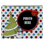 Rockin  Around the Christmas Tree XXXL Cosmetic Bag 1 - Cosmetic Bag (XXXL)