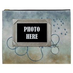 My Blue Inspiration Xxxl Cosmetic Bag 1 By Lisa Minor   Cosmetic Bag (xxxl)   Hzde99ij2gb8   Www Artscow Com Front