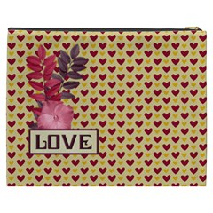 February 365 Xxxl Cosmetic Bag 1 By Lisa Minor   Cosmetic Bag (xxxl)   1b8usw9hxn16   Www Artscow Com Back
