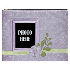 March 365 Xxxl Cosmetic Bag 1 By Lisa Minor   Cosmetic Bag (xxxl)   Rhtl9w2iqz2o   Www Artscow Com Front