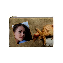 Chanta4 By Luiza Marinova   Cosmetic Bag (medium)   Ckgxzgeltvyz   Www Artscow Com Front