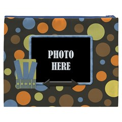 Basically Boy Xxxl Cosmetic Bag 1 By Lisa Minor   Cosmetic Bag (xxxl)   Q4r26u5v0pai   Www Artscow Com Back