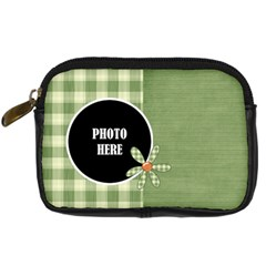 September 365 Camera Case By Lisa Minor   Digital Camera Leather Case   1fidvaw74yk0   Www Artscow Com Front