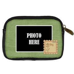 September 365 Camera Case By Lisa Minor   Digital Camera Leather Case   1fidvaw74yk0   Www Artscow Com Back