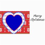 10 Christmas cards 3 (hearts) your photo,text - 4  x 8  Photo Cards