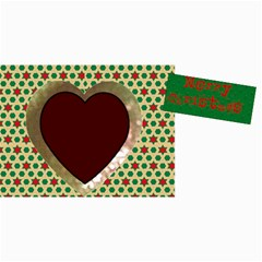 10 Christmas Cards 3 (hearts) Your Photo,text By Riksu   4  X 8  Photo Cards   Sr9fbfbsdb1k   Www Artscow Com 8 x4 Photo Card - 10