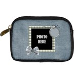 My Blue Inspiration Camera Bag - Digital Camera Leather Case
