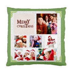 Merry Christmas By Mac Book   Standard Cushion Case (two Sides)   Fvgb2j7r5fni   Www Artscow Com Front