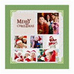 merry christmas - Medium Glasses Cloth (2 Sides)