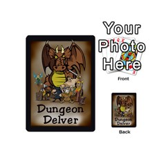 Dungeondelver 54playingcardsmini By David Barry   Playing Cards 54 (mini)   A5lpu1gez8l9   Www Artscow Com Back