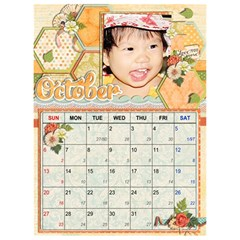 Lich2013 By Le Na   Desktop Calendar 6  X 8 5    Q7iyqpgl40wb   Www Artscow Com Oct 2013