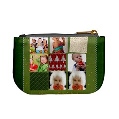 Merry Christmas By Mac Book   Mini Coin Purse   Obzq2d2s9wpx   Www Artscow Com Back