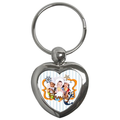 Merry Christmas By Mac Book   Key Chain (heart)   5av73ucja6u9   Www Artscow Com Front