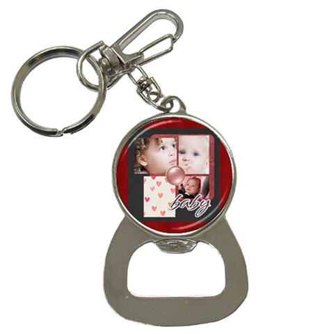 Merry Christmas By Mac Book   Bottle Opener Key Chain   3s9scmti55ne   Www Artscow Com Front