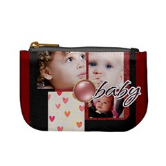 Merry Christmas By Mac Book   Mini Coin Purse   Txo7fttw4p71   Www Artscow Com Front