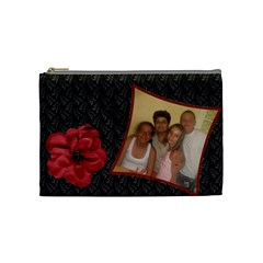 Chanta9 By Lilia Nenova   Cosmetic Bag (medium)   Kvjy7ott21bk   Www Artscow Com Front