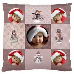 Christmas By Joanne5   Large Cushion Case (two Sides)   41s6m0ghizu4   Www Artscow Com Front