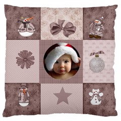 Christmas By Joanne5   Large Cushion Case (two Sides)   41s6m0ghizu4   Www Artscow Com Back