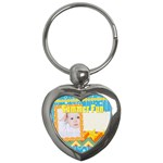 summer - Key Chain (Heart)