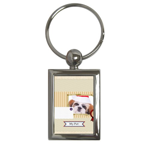 Pets By Betty   Key Chain (rectangle)   L1kwqft86t0e   Www Artscow Com Front