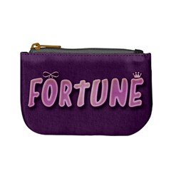 Minicoinpurse Fortune By Matematicaula   Mini Coin Purse   We5jcpzxu5jk   Www Artscow Com Front