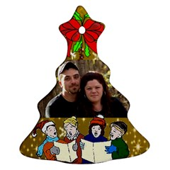 Carolers Tree Ornament Two Sides By Kim Blair   Christmas Tree Ornament (two Sides)   7okdes01vmlx   Www Artscow Com Back