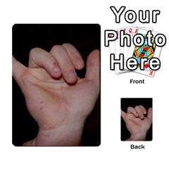 Photo Final By Jess Giglio   Multi Purpose Cards (rectangle)   Pudd3efyacil   Www Artscow Com Back 25