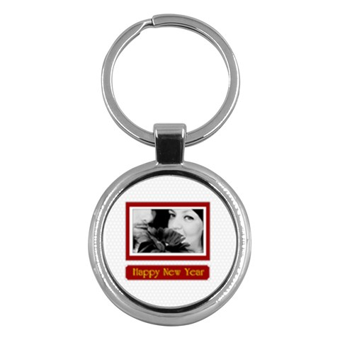 Merry Christmas By May   Key Chain (round)   D6ev53xs44js   Www Artscow Com Front