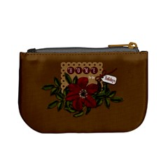 Christmas Clusters Coin Bag 2 By Lisa Minor   Mini Coin Purse   S0ztd3fyl3u1   Www Artscow Com Back