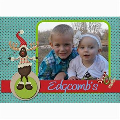 Christmas Card 2012 By Amanda   5  X 7  Photo Cards   Hfuon7wfhan1   Www Artscow Com 7 x5 Photo Card - 2
